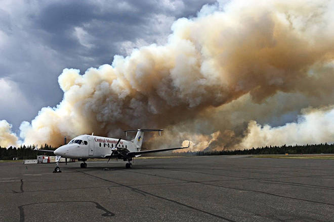 Langley sends firefighters to Williams Lake