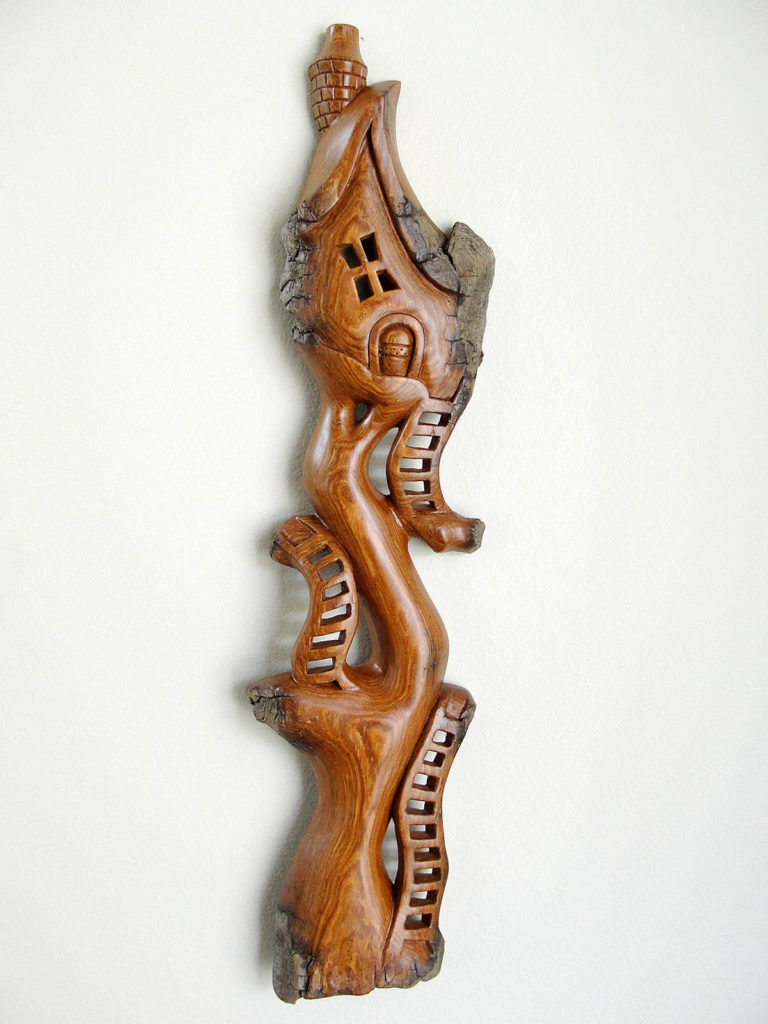 Whimsical carver among artists drawn to Arts Alive