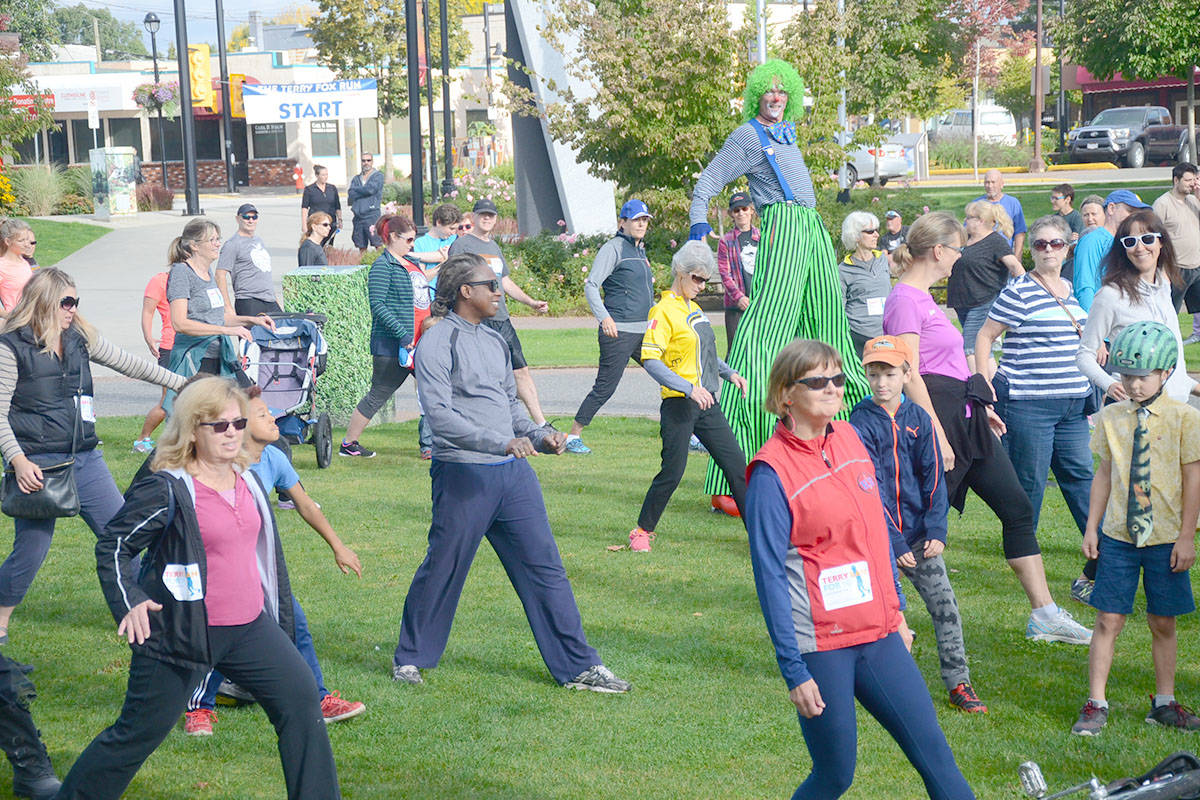 The community can take advantage of Terry Fox Runs in Walnut Grove, Aldergrove and Langley City as well as nearby Cloverdale. (Langley Advance files)