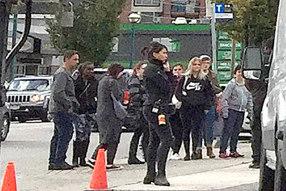VIDEO: Riverdale fans meet up with stars outside Langley film location