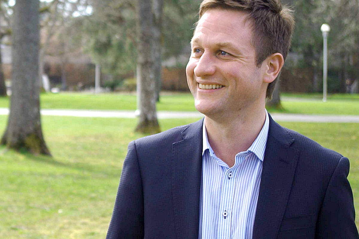 Education minister Rob Fleming speaks out in support of the SOGI 1 2 3 program and the efforts by Langley parents to keep in front and centre in local schools. (Special to the Langley Advance)