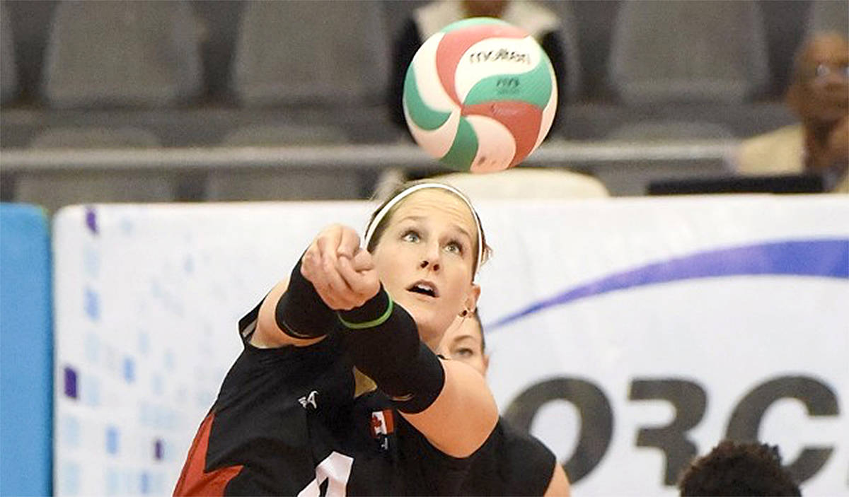 The top two teams from this weekend's women's volleyball qualifiers in Langley will play in Japan. (Special to the Langley Advance)