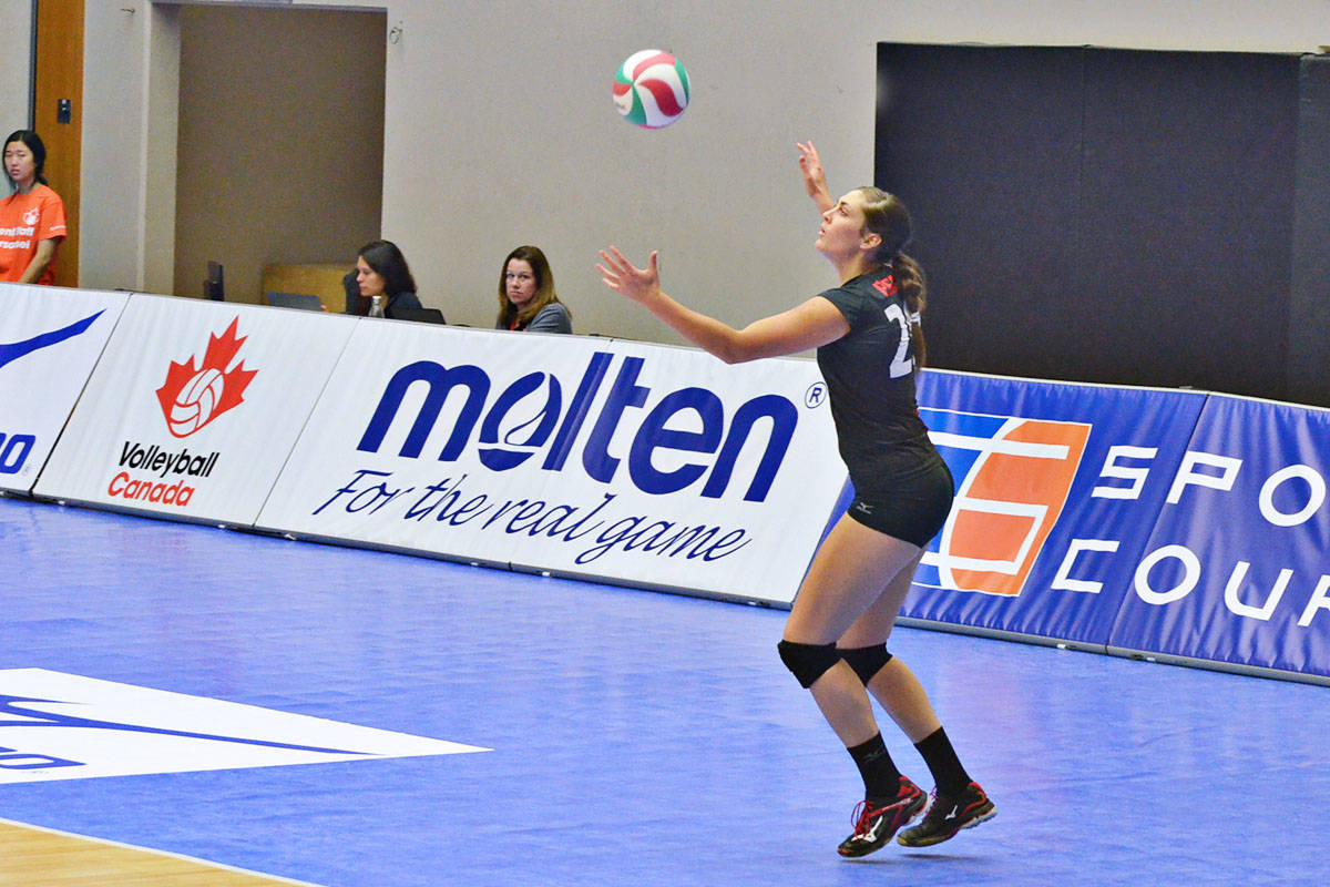 Alicia Perrin is a Trinity Western University grad who is on Team Canada. (Heather Colpitts/Langley Advance)