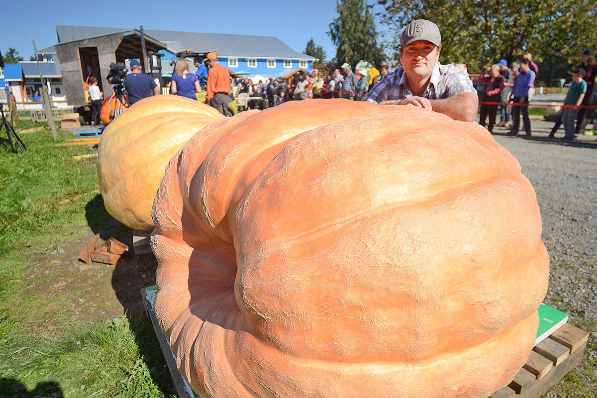 Scott Carley is a grower of giant pumpkins who has entered the contest in the past.