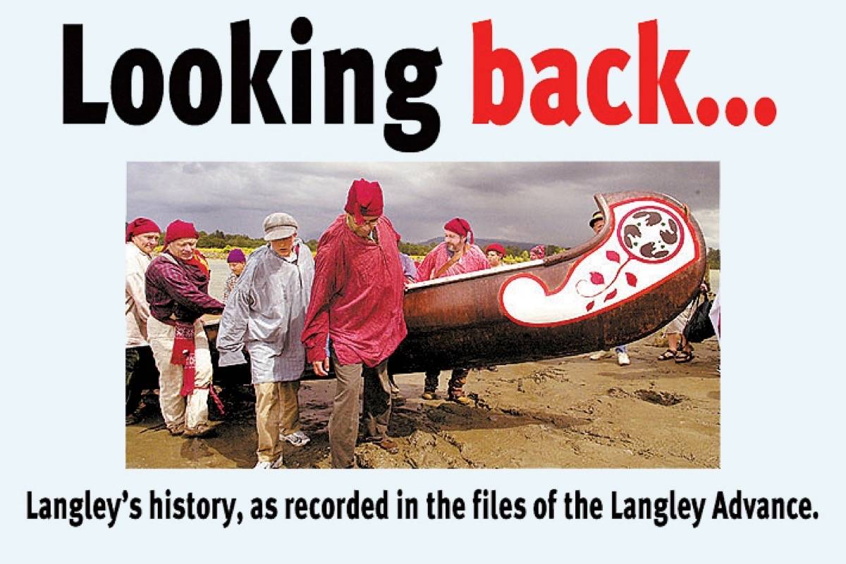 Langley Looking Back: Them's fightin' words