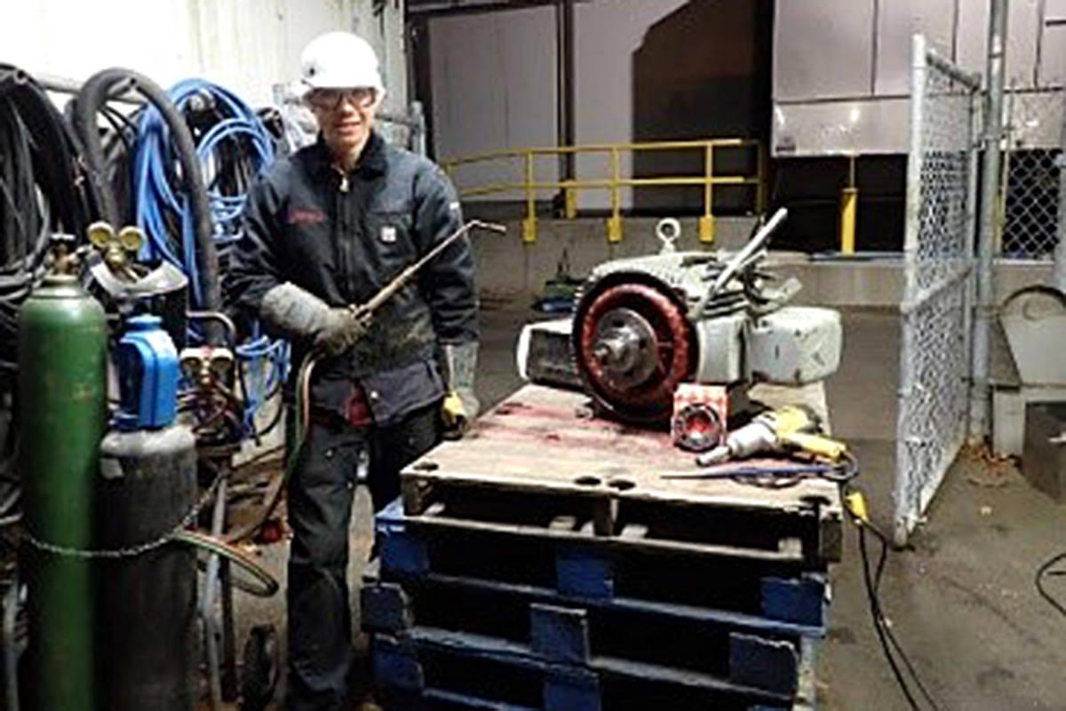 Langley apprentice spotlighted in industry contest