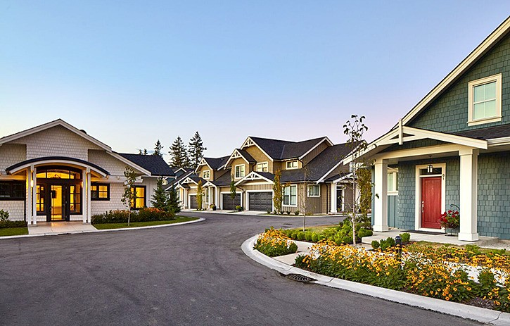 Infinity Properties Heritage project in Murrayville won two Georgie Awards from the Canadian Home Builders' Association of B.C.