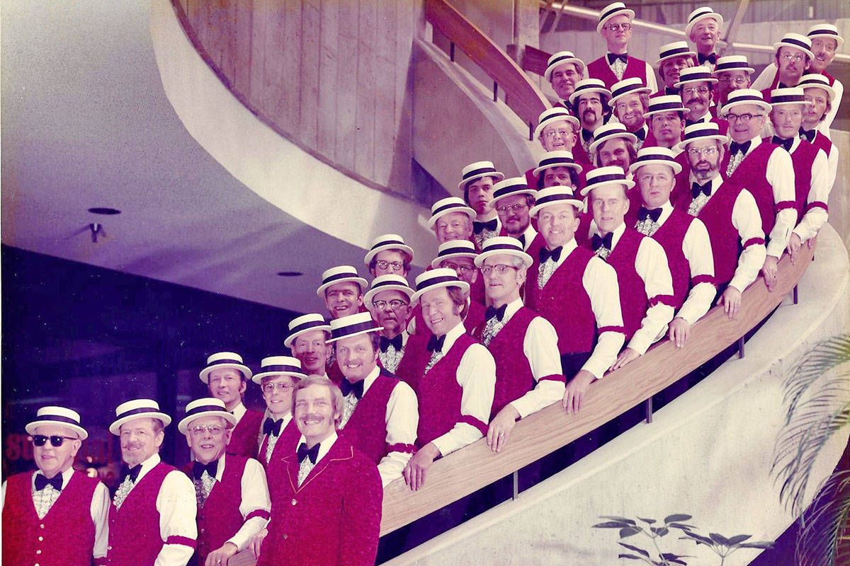 The Langley First Capital Chorus in 1973. (First Capital Chorus website)