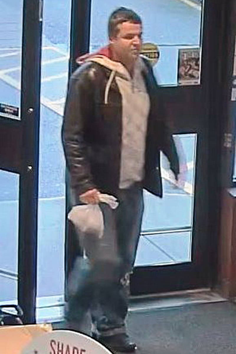 This man allegedly used a stolen Visa card.