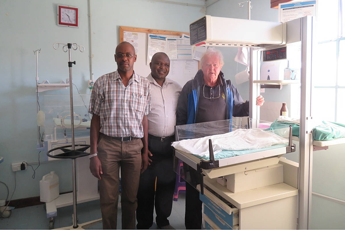 Langley Central Rotarian Wayne Crossen has made several trips to Kenya over the years, to help improve education and health services there. (Special to the Langley Advance)