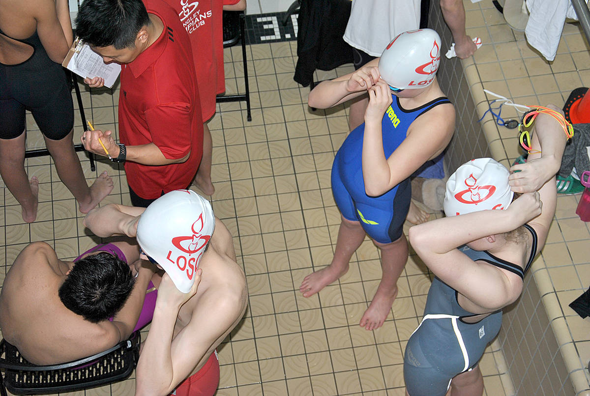 PHOTOS: Olympian swimmers earning provincial berth