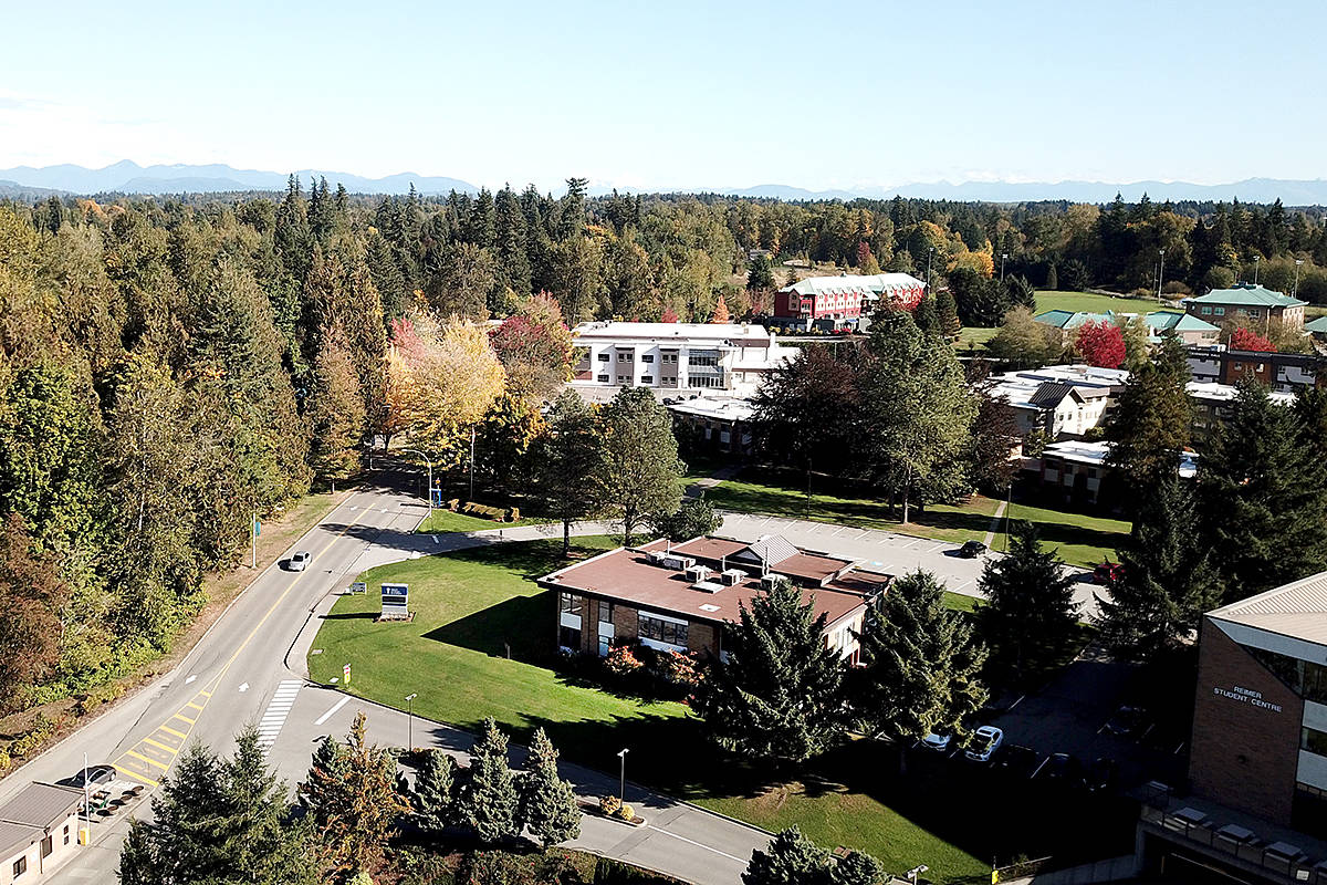 Trinity Western University in Langley. (Alexander Gust photos)