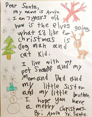 3082f09e0bf Dear Santa  Langley kids letters to the jolly old elf – Langley ...