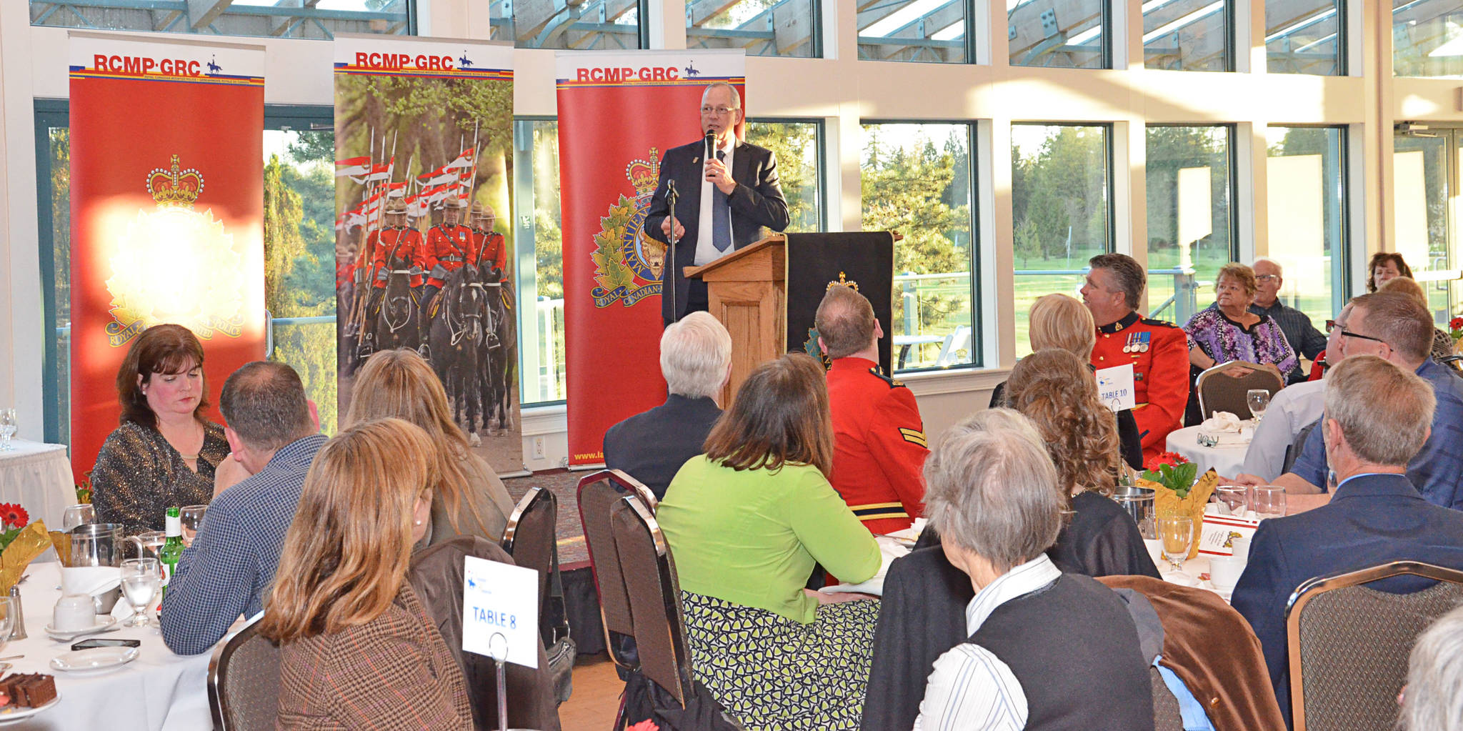 The Langley RCMP hosted its annual volunteer recognition banquet on April 17.
