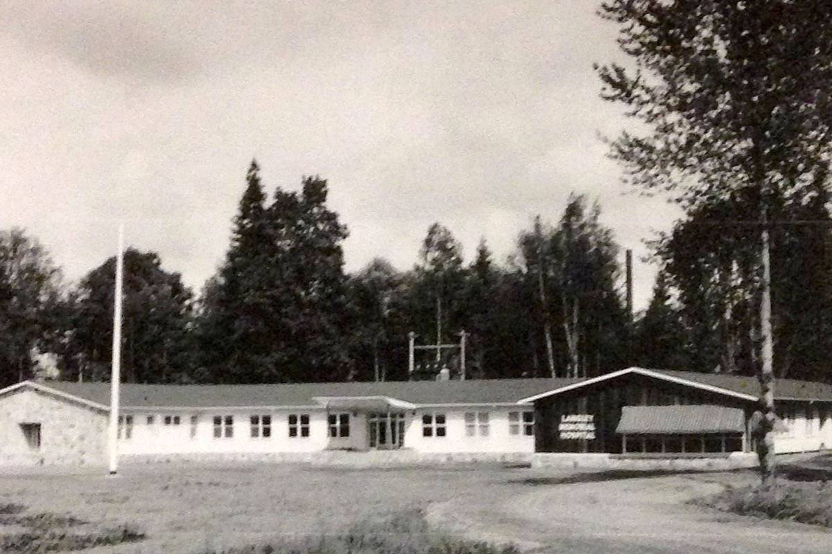 Langley Memorial Hospital, first known as Cottage Hospital, was erected 70 years ago. Now, a new museum opens, dedicated to the hospital's archives and memorabilia, on July 15 in Langley City's historic Michaud House. (Langley Advance files)