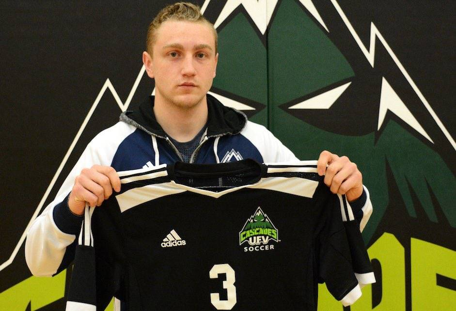 Langley's John Kaspar will play for the University of the Fraser Valley starting this autumn.