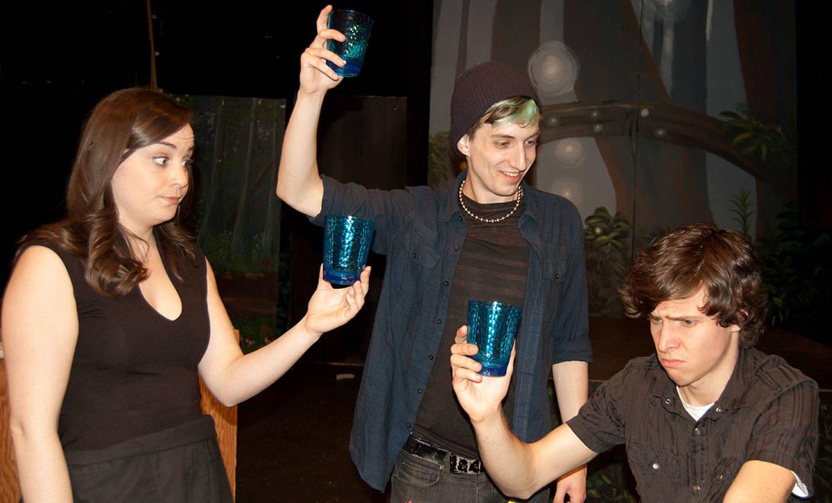 In Canadian Content, Madison McArthur plays Billie, Luke Stevens is Reid, and Nikola Trotzuk plays Ivan.