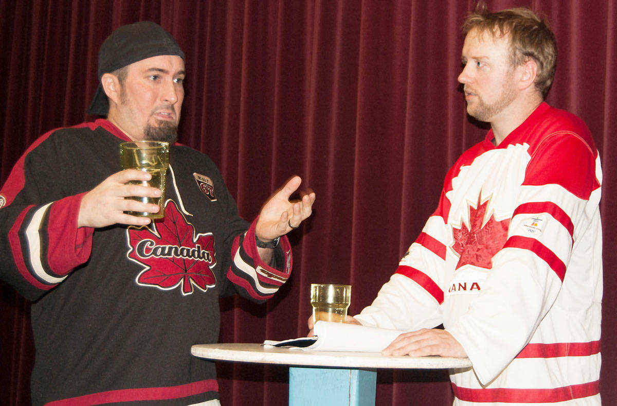In Domestic Misconduct, Darcy J. Knopp plays Dean, while Dale Juvelin is Buddy.