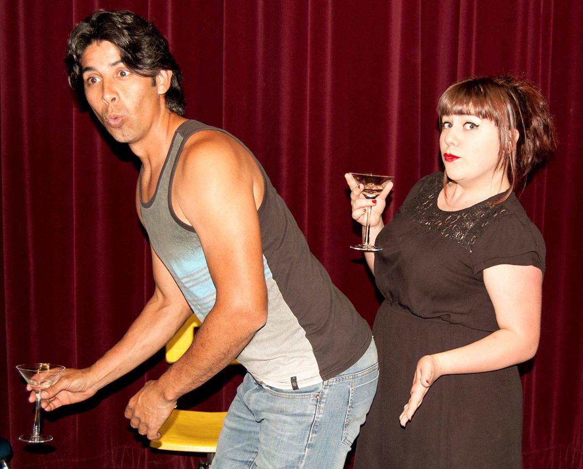 In Domestic Misconduct David De Leon is Javier, playing alongside Lauren Trotzuk, as June.