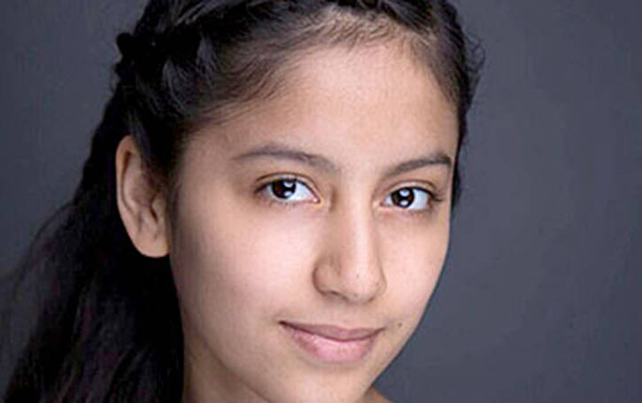 Isabella Llanos loves performing and being on stage. (Special to the Langley Advance)