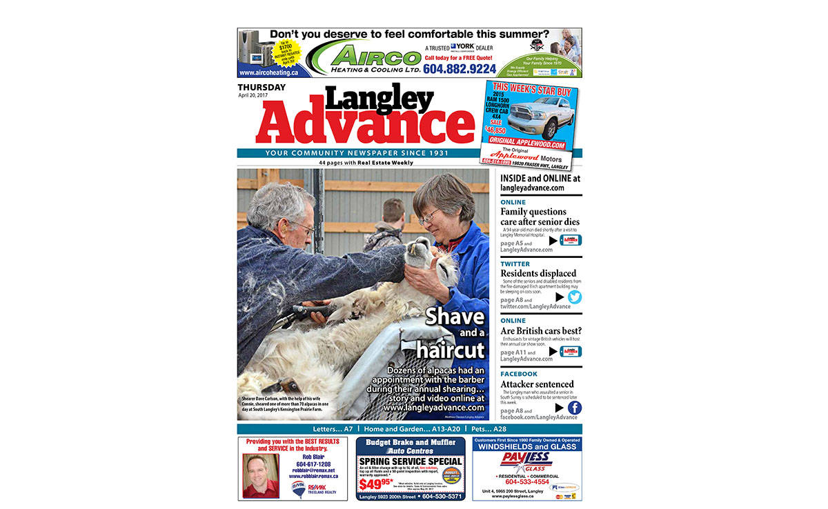 #FrontPageFriday: Lots of spring activities and a family's heartbreak