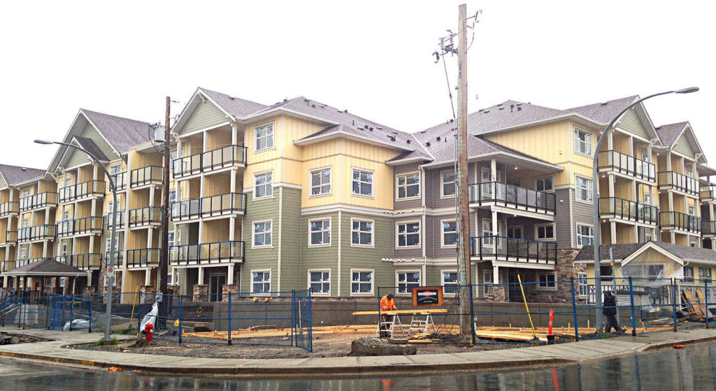 Langley condo developer finishes building 13 months behind schedule