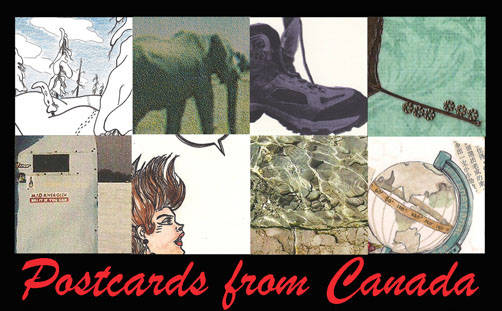 Fort Gallery is hosting an exhibit called Postcards from Canada to help mark the country's 150th birthday.