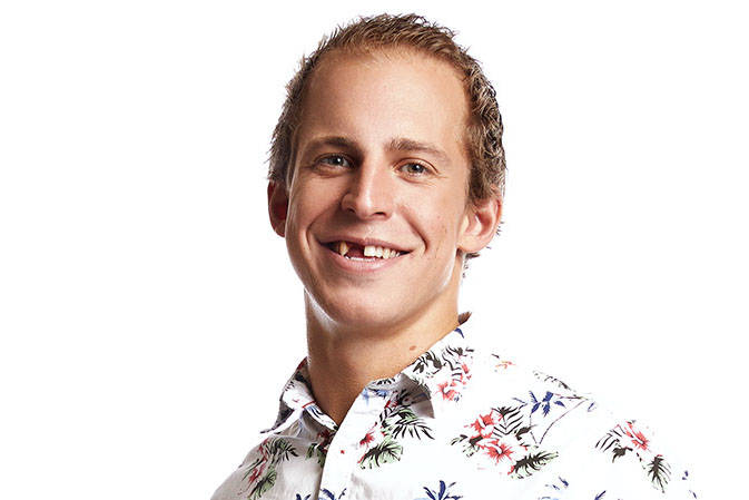 Dane Rupert, 27 will be the first houseguest from Kelowna photo: Big Brother Canada