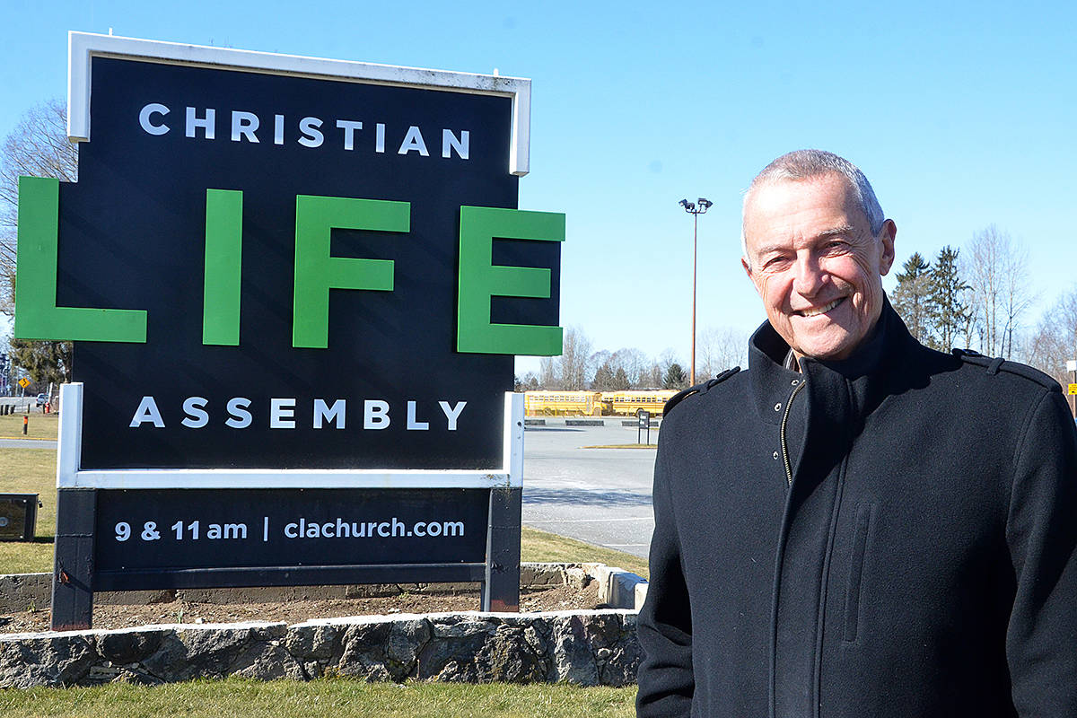 Peter Fassbender, a former councillor and mayor for the City of Langley and former Liberal MLA, has been attending Christian Life Assembly for more than four decades. He'll be heading up the new church's new housing society.