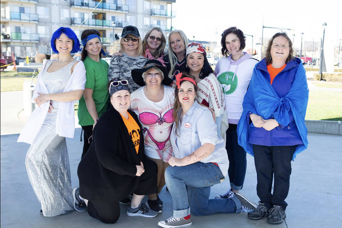 Fifteen women remain in the Total Makeover Challenge in Langley. (Four not pictured) Courtesy Anita Alberto Photography