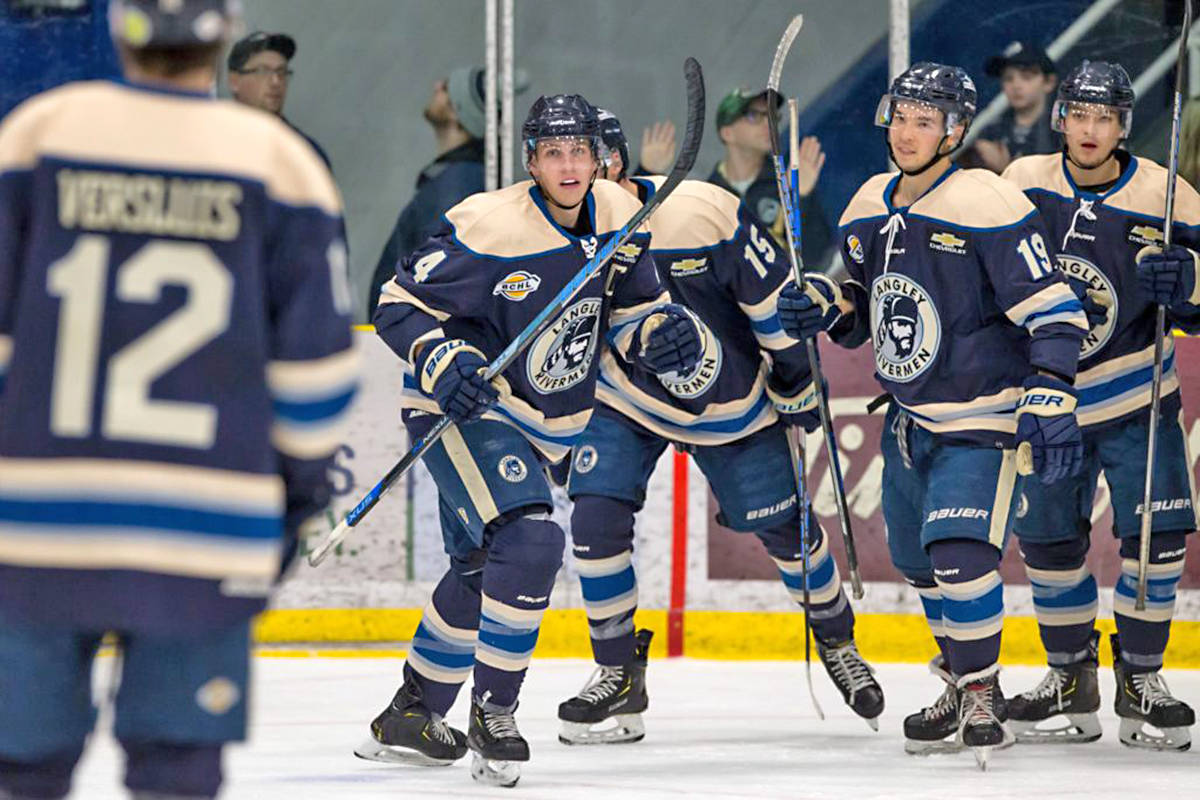 VIDEO: Langley Rivermen aim for playoff sweep