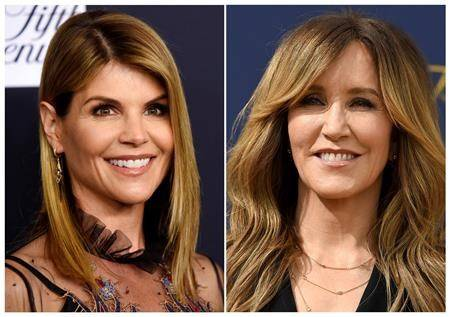 Actresses Felicity Huffman, Lori Loughlin charged in college admissions bribery scheme