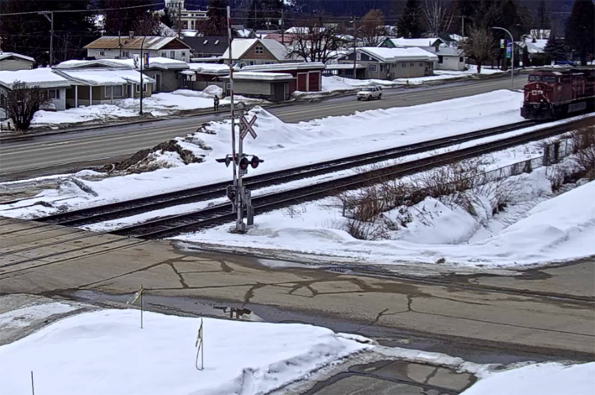 Virtual Railfan has a live camera on the Revelstoke Railway Museum for train fans to sneak a peak at the action in Revelstoke. (Youtube)