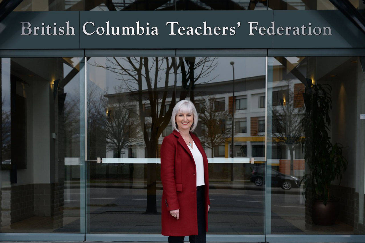 Teri Mooring will become president of the BCTF on July 1 (Twitter/BCTF)