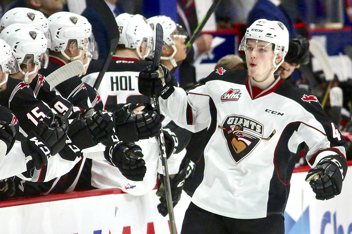 Vancouver Giant named to Western Conference first-tier all-star team