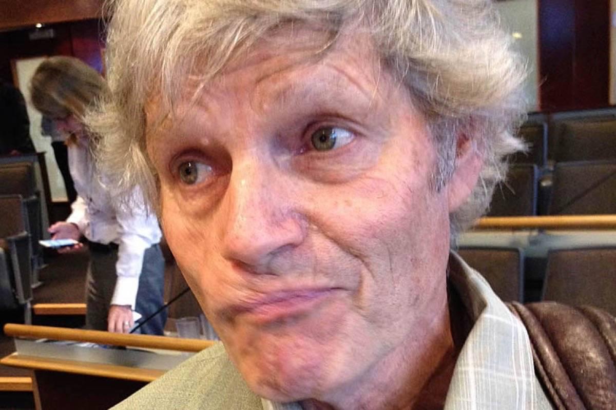 Former Agricultural Land Commission chair Richard Bullock. (Jeff Nagel/Black Press Media)