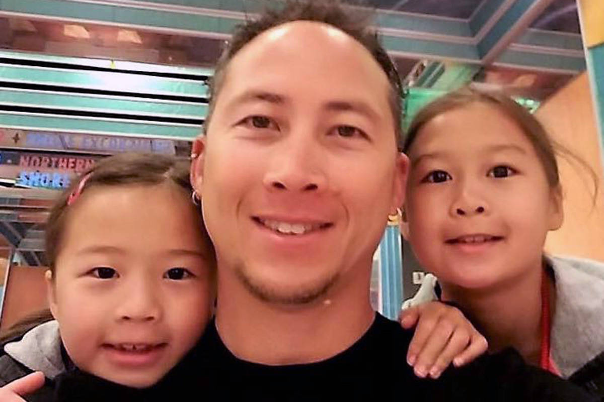 Jeremy Chow, a father of two, is encouraging British Columbians to donate stem cells after being diagnosed with Acute Myeloid Leukemia in December. So far there are no stem cell matches for Chow, who is bi-racial Chinese and British. (Facebook)