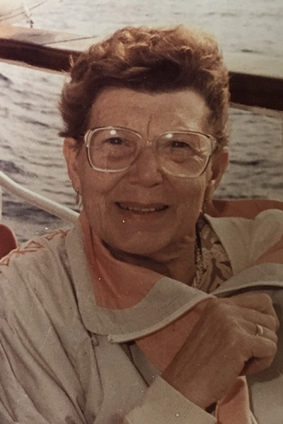 Joy Olive Logan (nee Edgell)