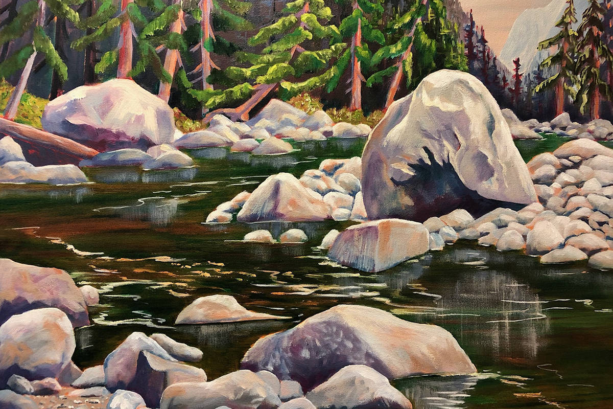 """Golden Ears Park"" by artist Jeanie Shilton"