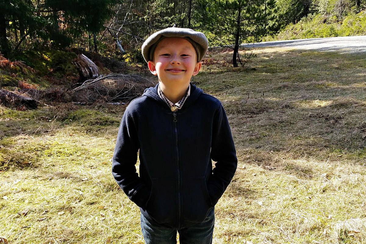 Broderick Burkhart-Thorne, 11, died on Cortes Island in a tragic incident involving an off-road vehicle on March 28, 2019. Photo courtesy Misty Thorne