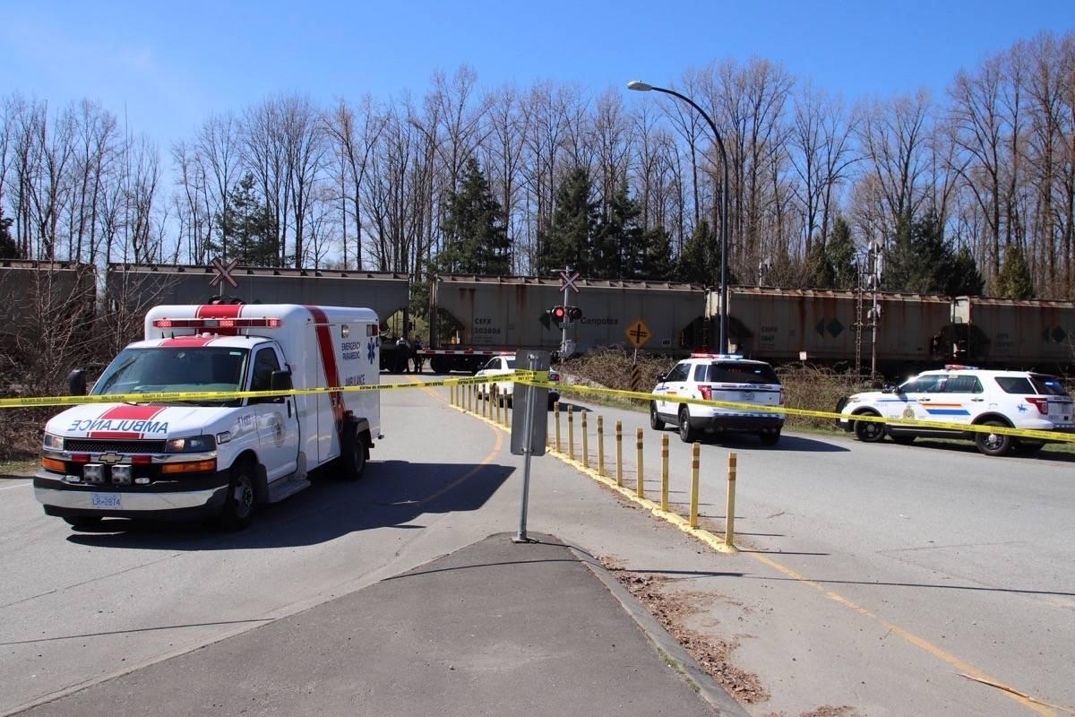 A pedestrian was hit by a train in Maple Ridge. (Shane MacKichan/Contributed)