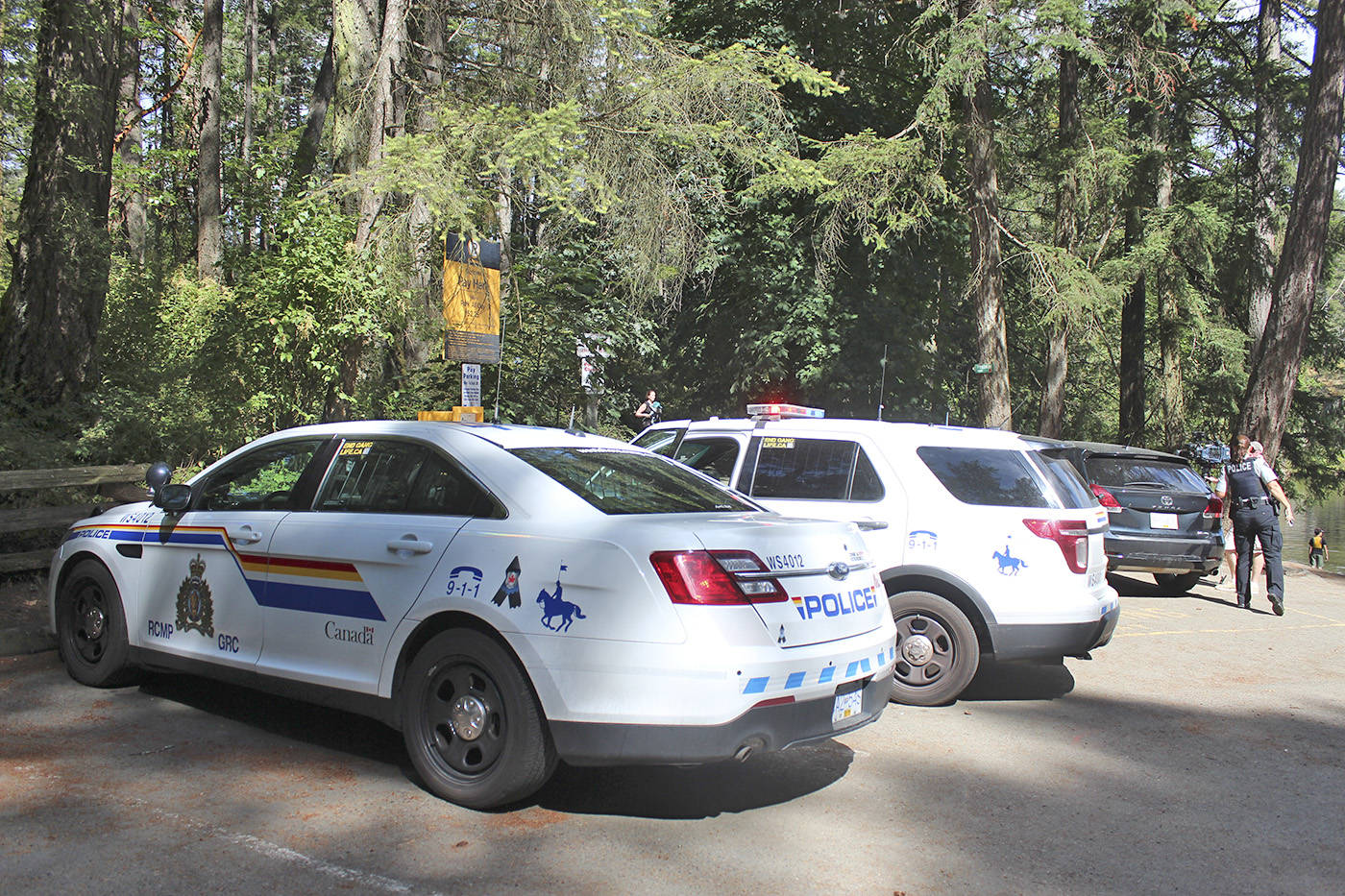 West Shore RCMP confirmed a suspect is in custody after a sexual assault occurred on a Thetis Lake Park trail just after 7 p.m. Monday. (File photo)