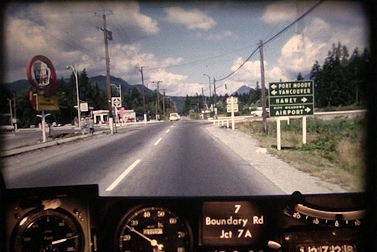 The 1966 road trip is a series of Transportation Ministry photographs, taken every 80 feet, turned into a video.