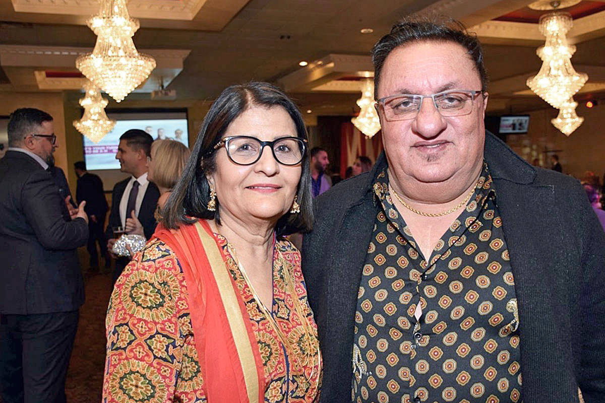 Manjit and Darcy Gill. File