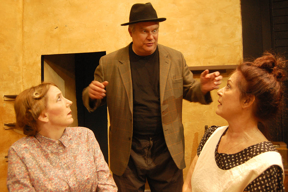 "Langley Players present ""Dancing at Lughnasa."" Courtesy Langley Players Drama Club"