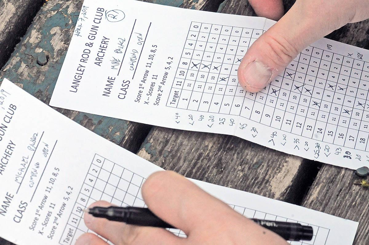 Keeping score. Dan Ferguson Langley Advance Times