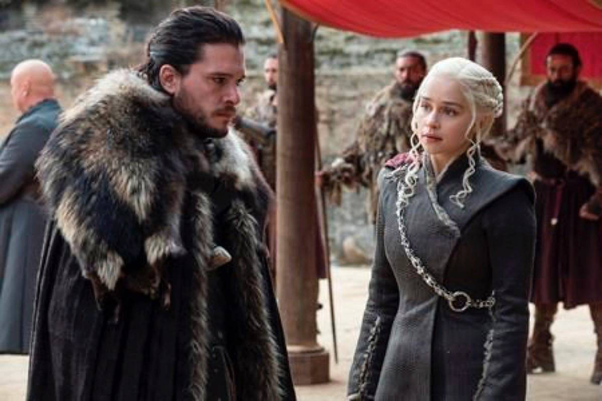 Game of Thrones will return for its final season this month. (Photo by THE ASSOCIATED PRESS)