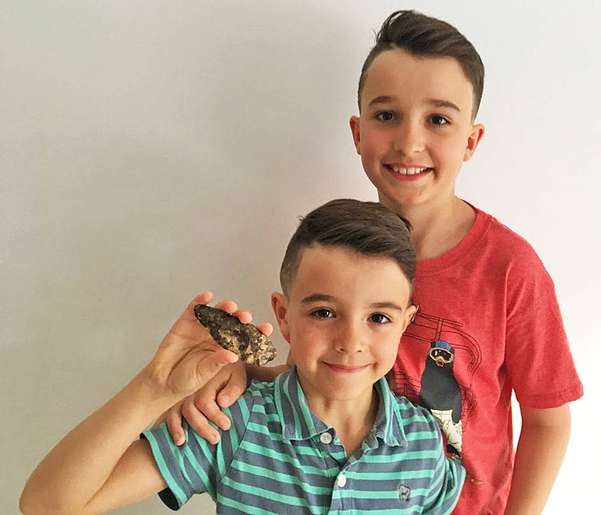 Max and Jayden Brewer. (Contributed)