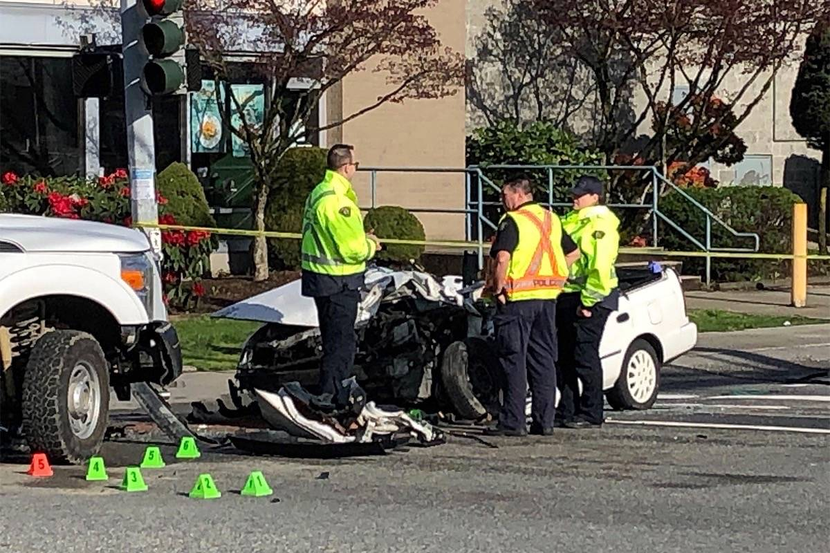 best online high fashion buying new Update: Man seriously injured in truck, car crash in Surrey ...