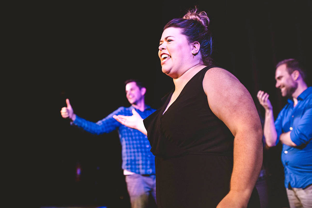 Julia Church started the Fort Night Improv group, and also performs as an improviser. Courtesy Charlotte Browning